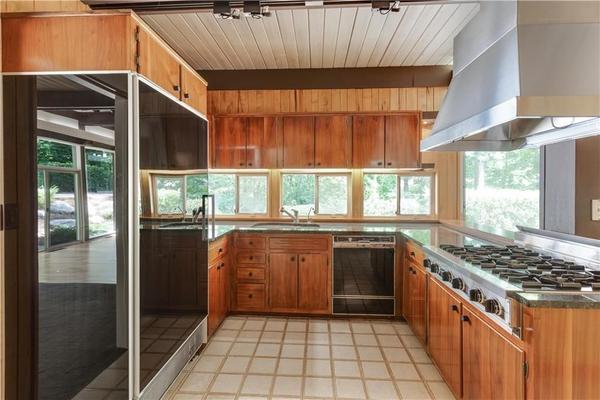 Atlanta buckhead kitchen midcentury modern renovation design