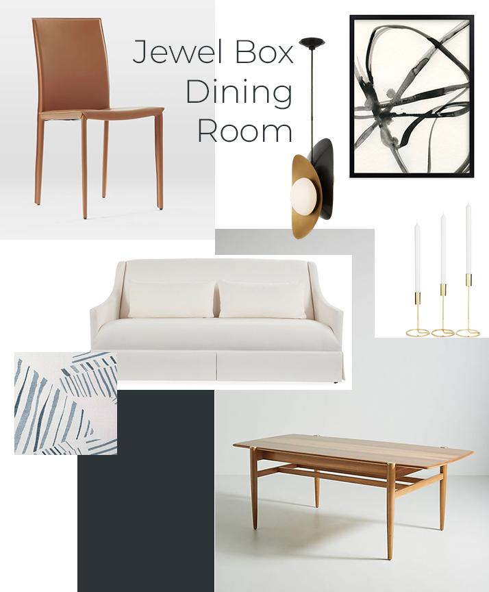 Get the look jewel box dining room