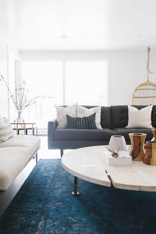 loom goods modern living room