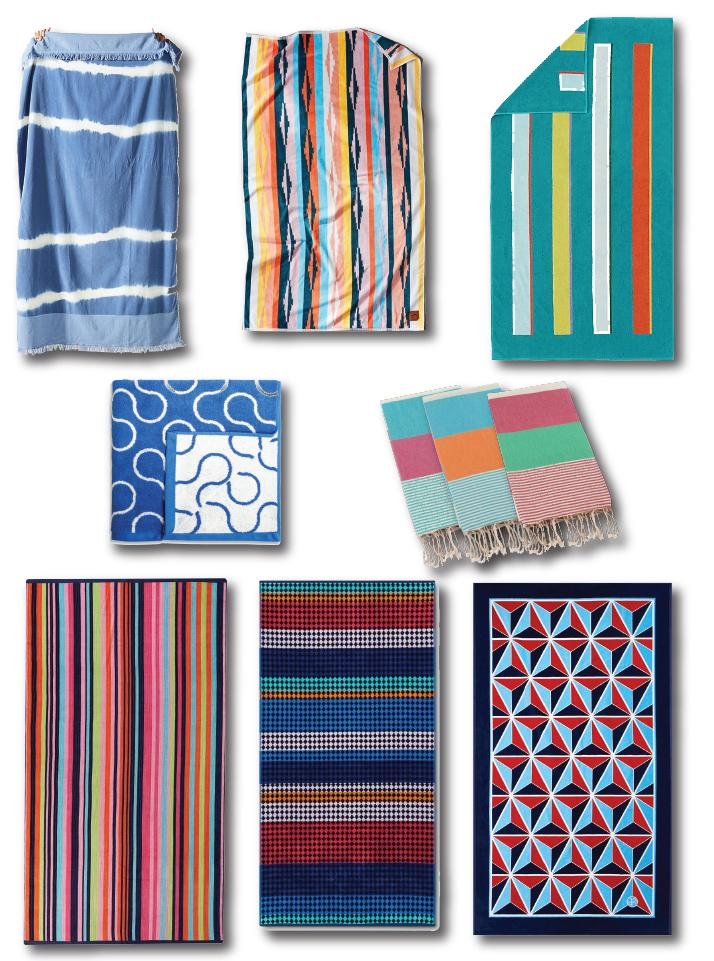 modern beach towel roundup