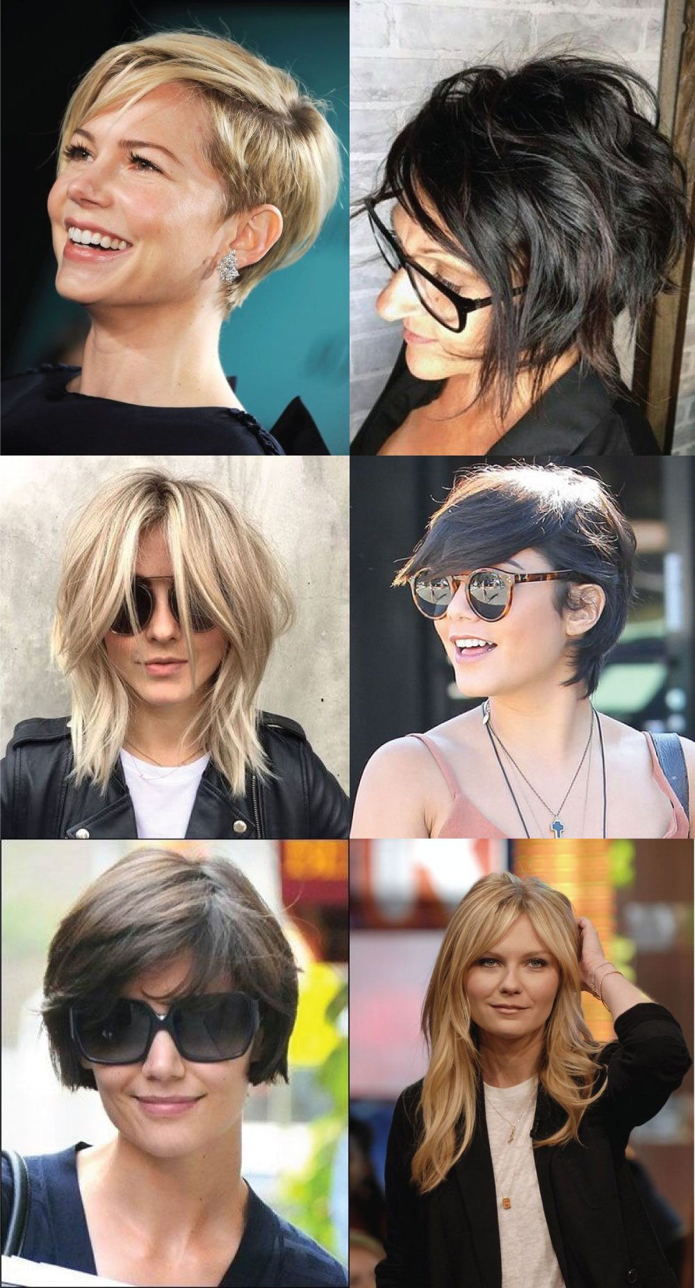 short hairstyles growing out bangs