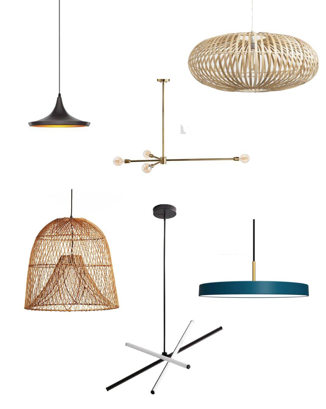 roundup modern pendant lights