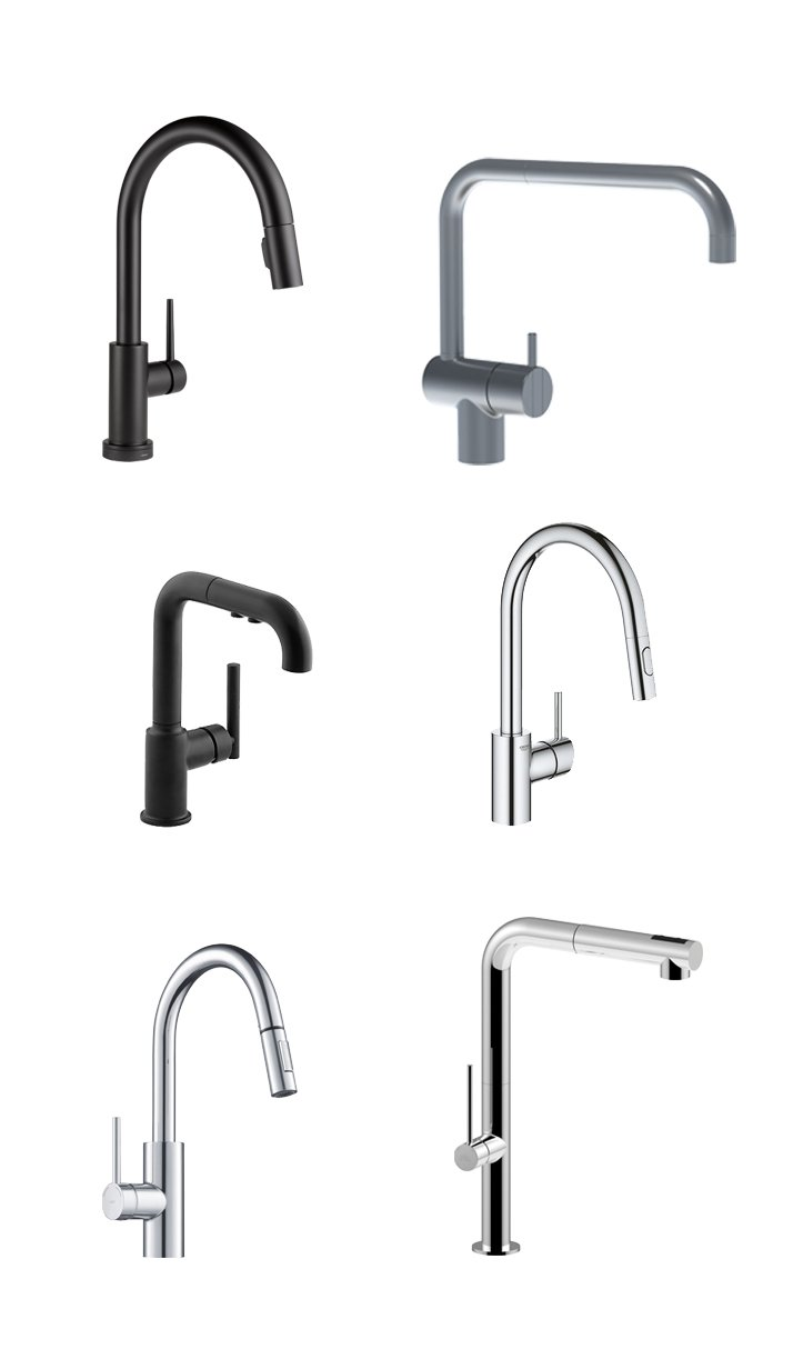 Roundup kitchen faucets